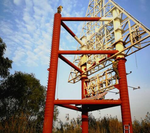 标志钢结构建筑物防腐